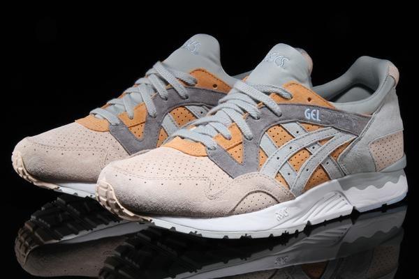| ASICS Tiger Men's Gel Lyte V Sneakers, Mid Grey