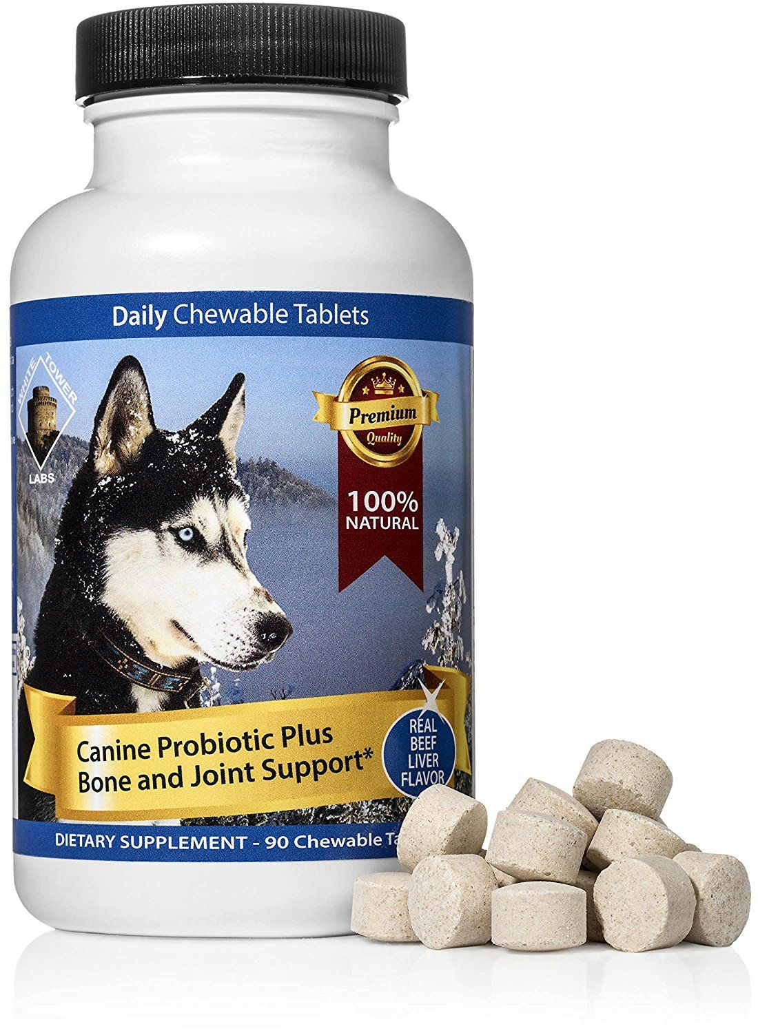 Chewable Probiotic For Dogs Digestive Enzymes Boost