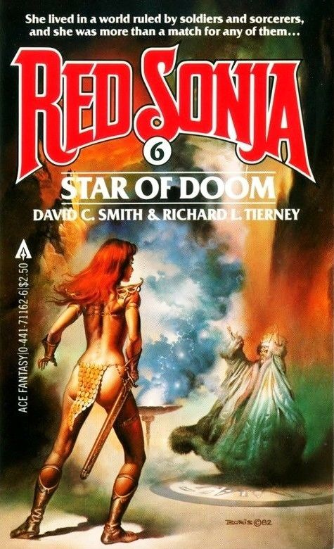 Red Sonja Star Of Doom By David C Smith Richard L Tierney