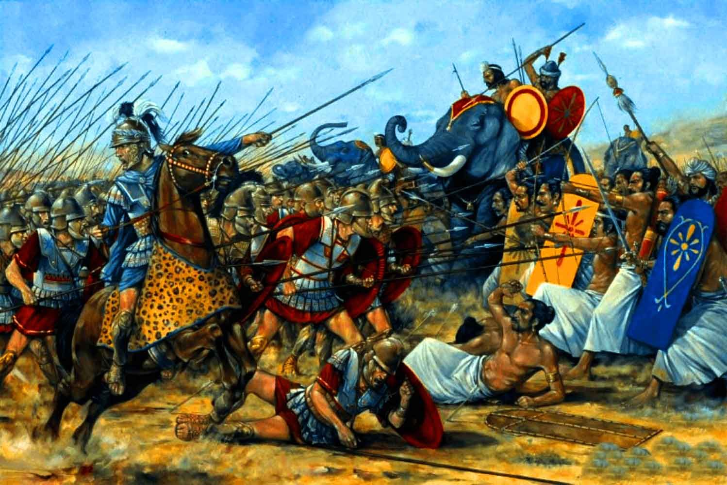 Alexander The Great At The Battle Of Hidaspes With Images
