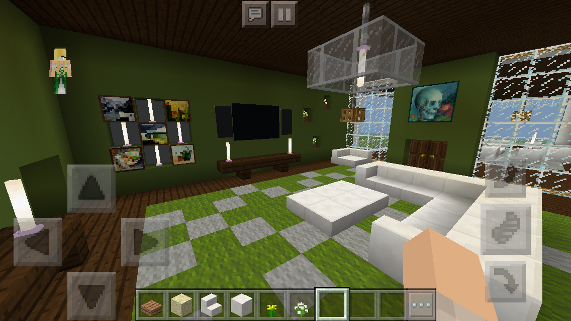 Modern House Master Bedroom Minecraft Interior Design Architecture Houses Modern Masterbedroom Modern House House Blueprints House Layouts