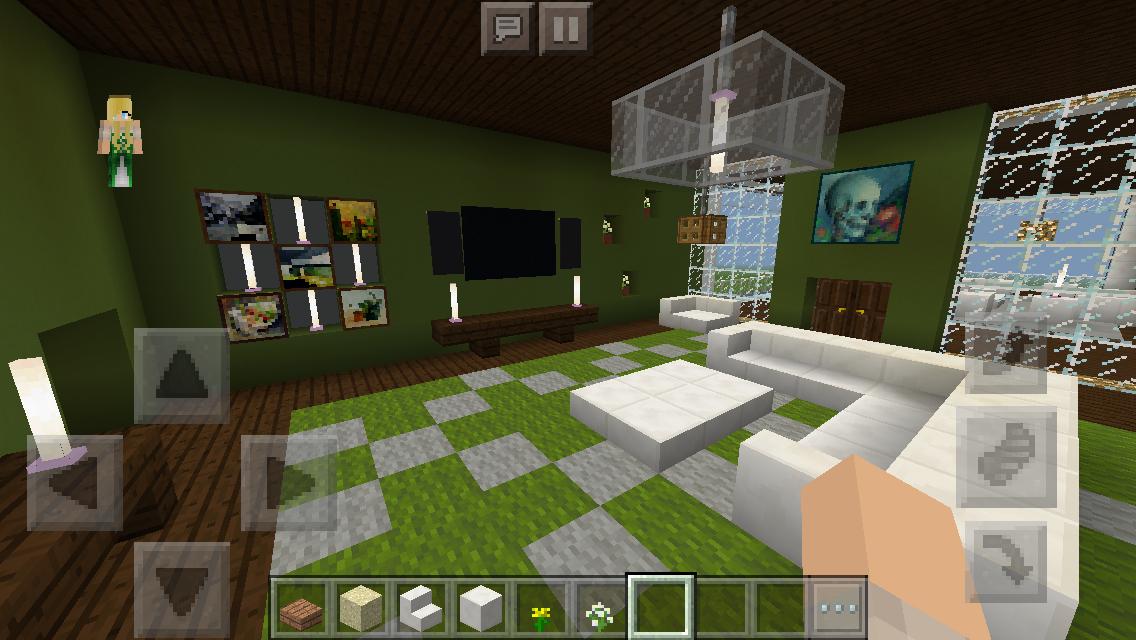 Modern House Master Bedroom Minecraft Interior Design