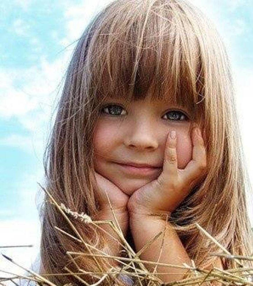 Pin on little girl's hair