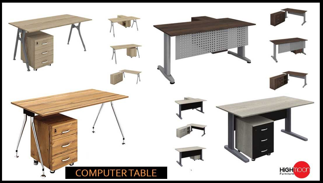 Computer Desks And Tables Comfortable Office Furniture Home