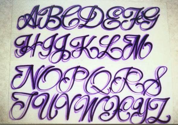 Purple Fonta ABC