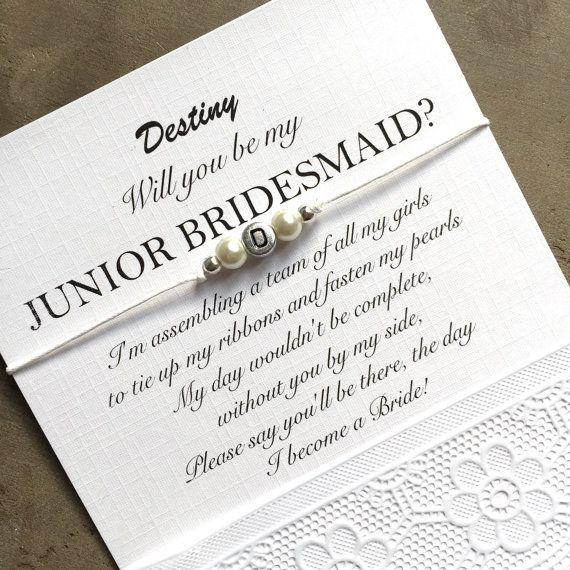 Will You Be My Junior Bridesmaid, Bridesmaid Proposal
