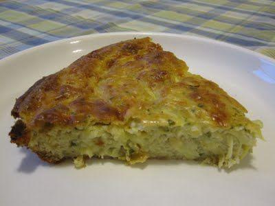 Very well, grazie.: Zucchini Pie for Zucchini Haters