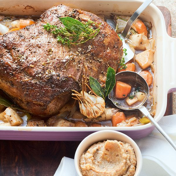 Photo of Roast wild boar with puree of chestnuts