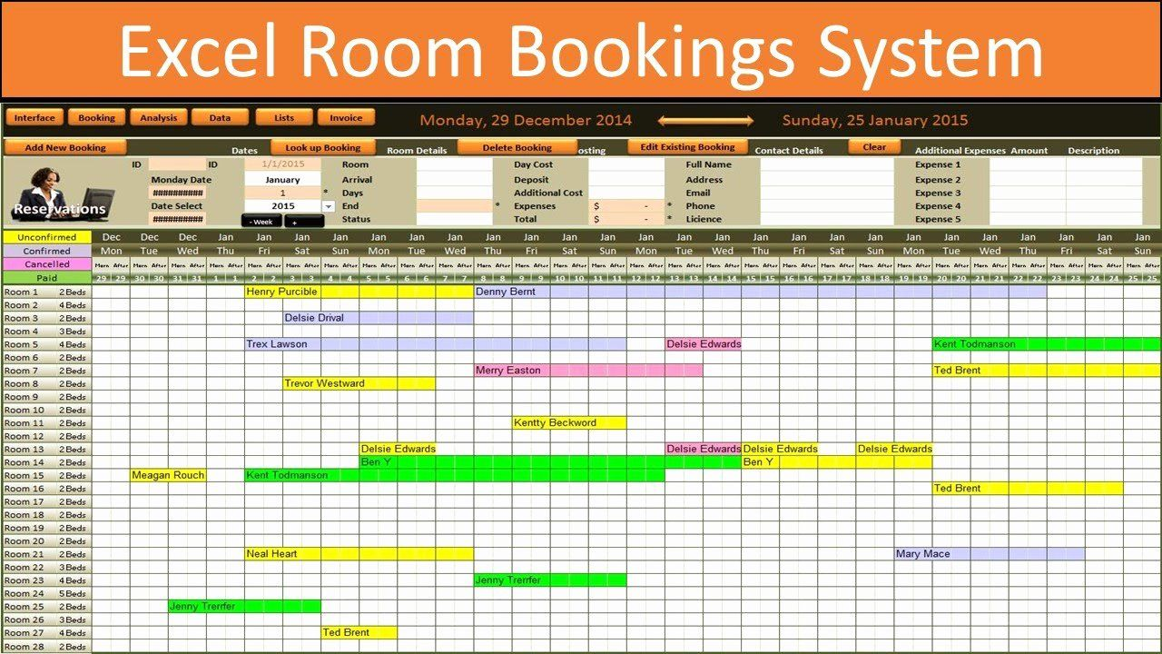 Conference Room Schedule Template Inspirational Excel Room Bookings Calendar Peterainsworth Excel Calendar Room Booking System Schedule Template