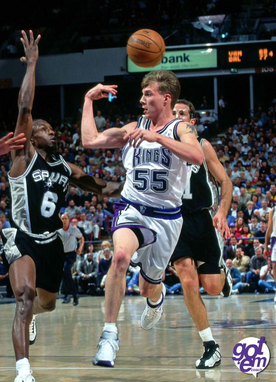 More breakneck Jason Williams passing.