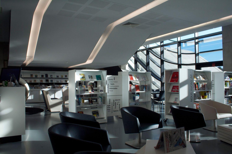 Montpellier bibliotek
