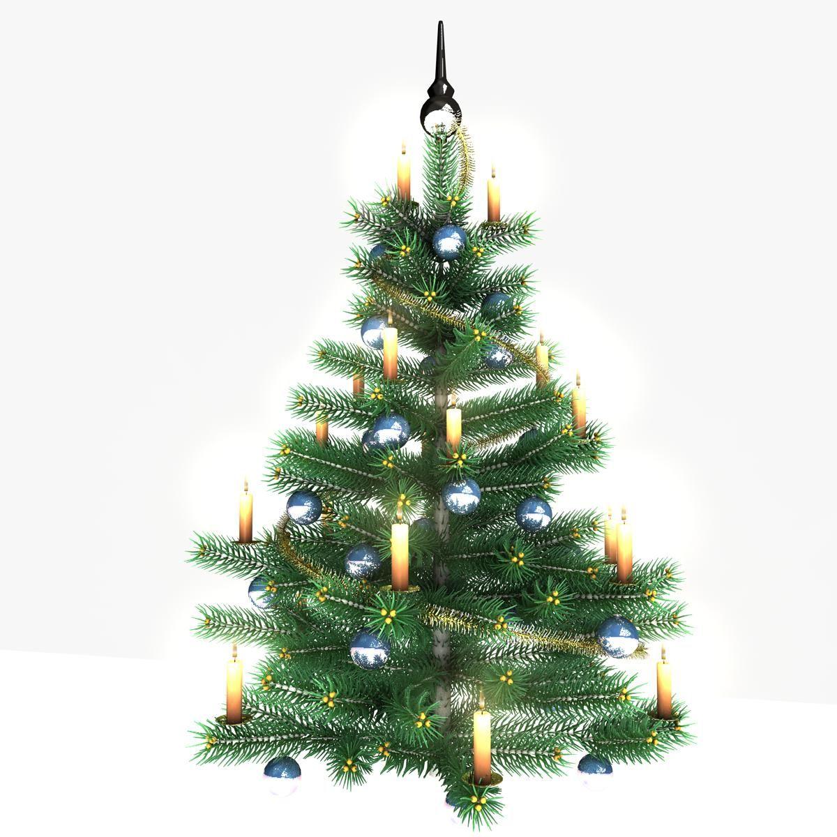 Christmas Tree Blue 3d Model Ad Tree Christmas Model Blue Christmas Tree Tree