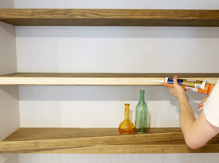 How to Build Floating Shelves for Uneven Walls Floating