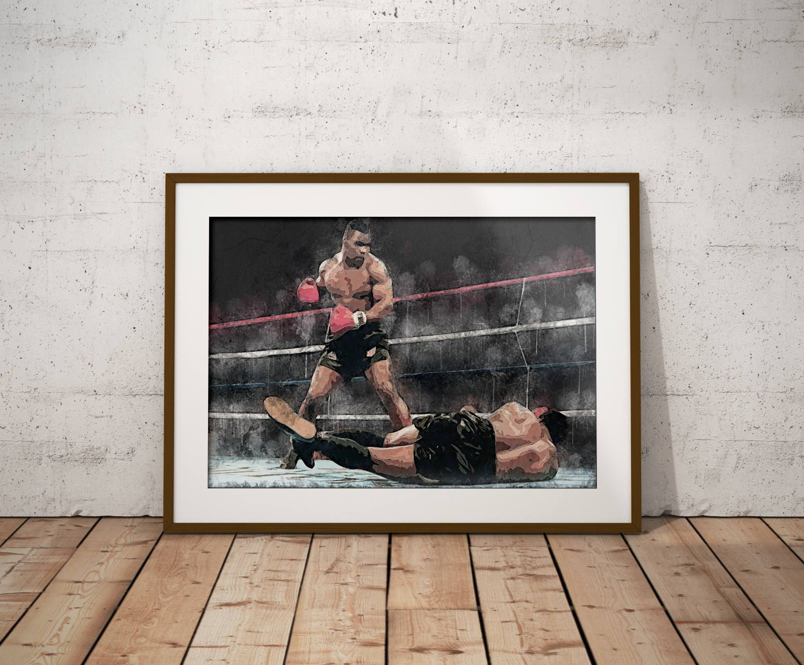 Mike Tyson Iron Mike Poster Boxing Art Boxing Poster Wall Decor Man Cave Boxing By Gamefacepp On Etsy Poster Wall Art Boxing Posters