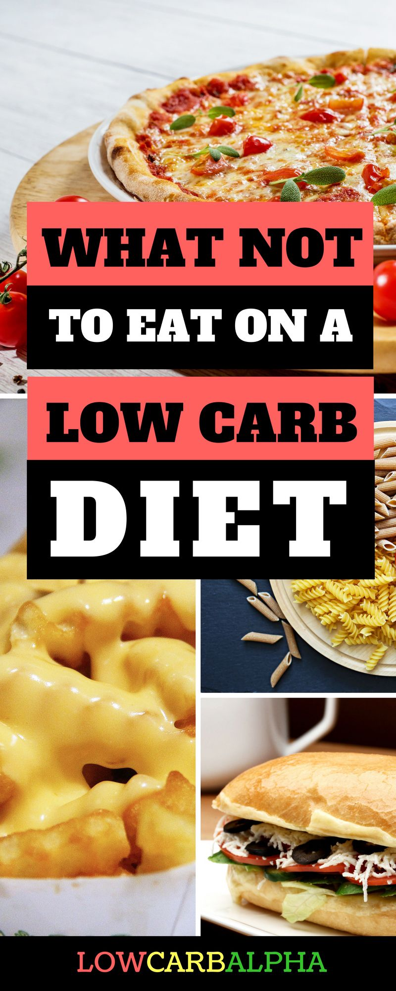 Foods to Avoid on a Low Carb Diet No carb diets, Diet