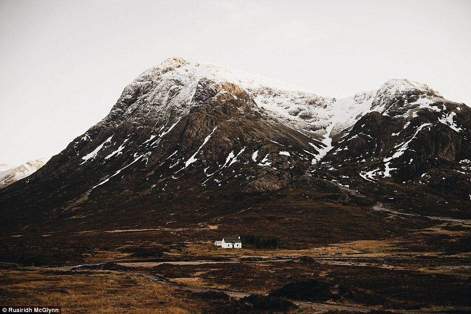 Bit far to the nearest shops! Lagangarbh cottage in Buachaille Etive Mor is…