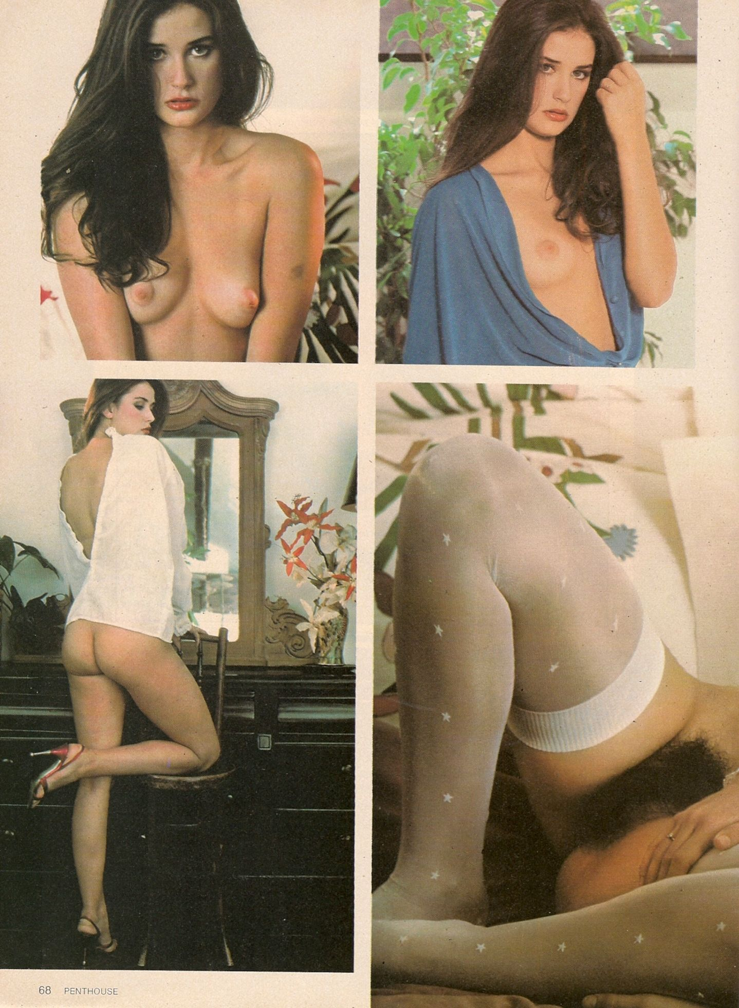 Demi moore full frontal nudity
