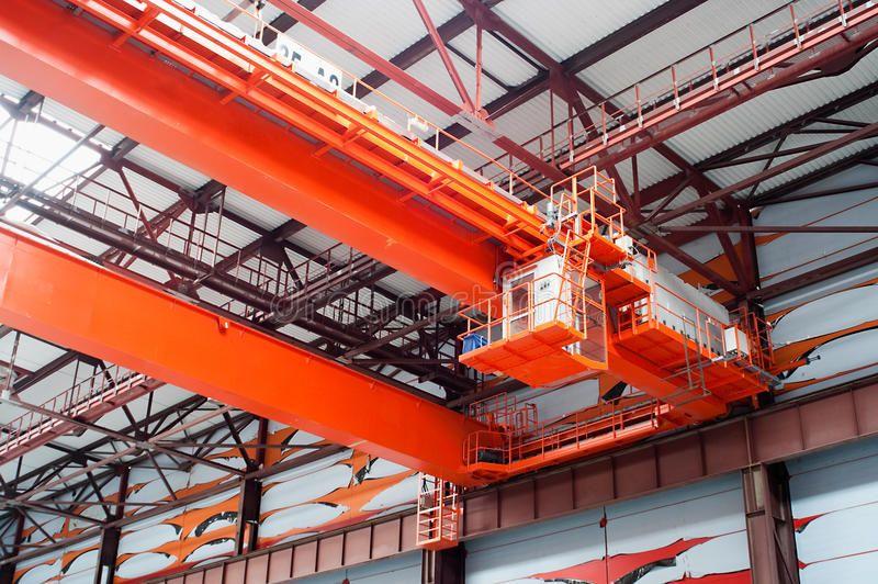 Largetonnage industrial crane Largetonnage industrial orange Goliath crane lo