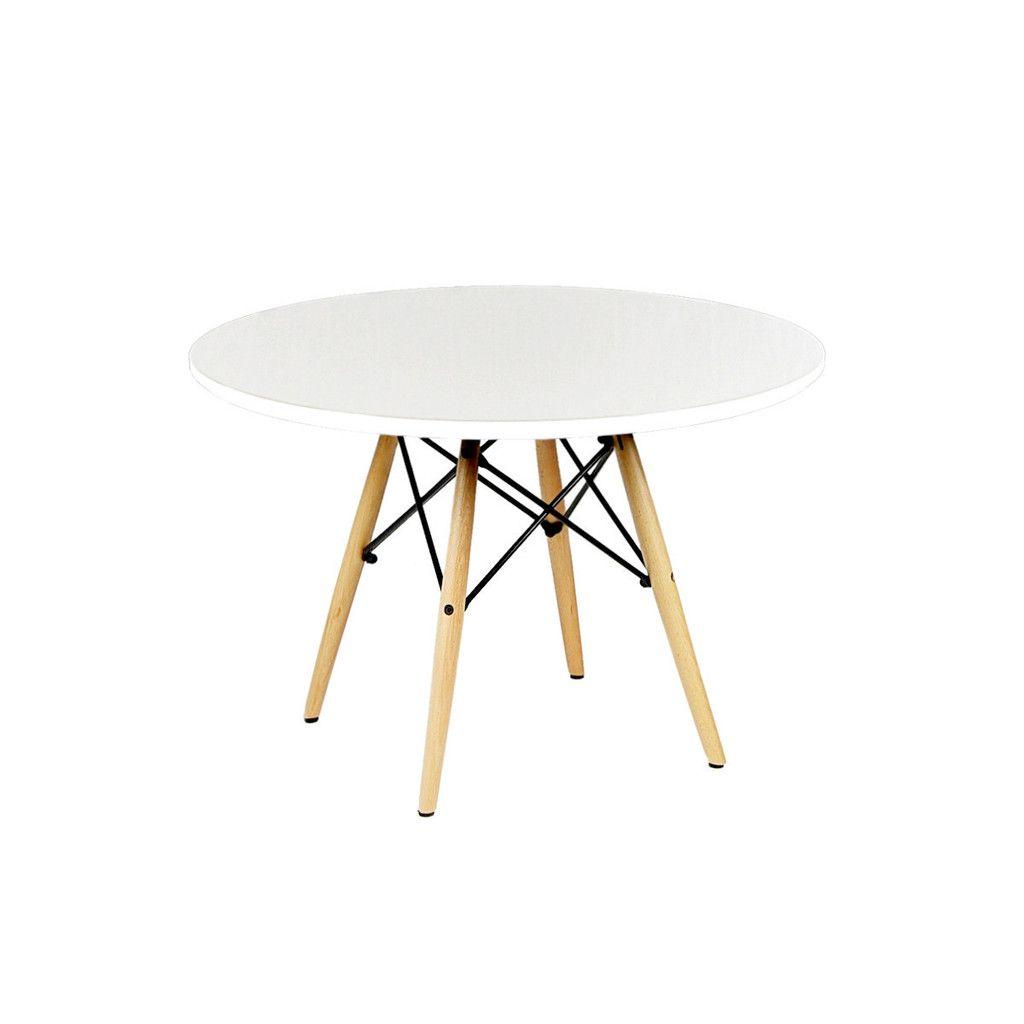 Childrens chelsea table white plastic furniture