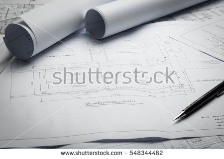 Engineering diagram blueprint paper drafting project sketch engineering diagram blueprint paper drafting project sketch architecturalselective focus buy this stock photo on shutterstock find other images malvernweather Images