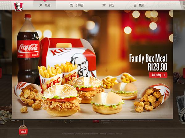 Redesign of KFC South Africa | Kfc, Food history, Food
