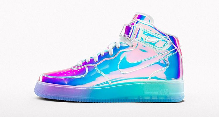 Nikeid Air Force 1 customised trainers size 10.5, but came