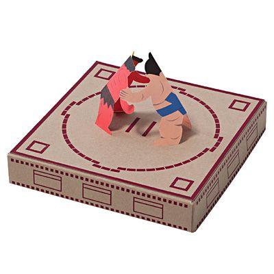 一緒に遊ぶ紙ずもう 力士シート17枚(力士13枚フリー4枚) | 無印良品ネットストア