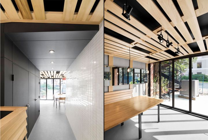 Au Pain Dor Bakery Caf By Naturehumaine Montreal Canada Retail Design Blog