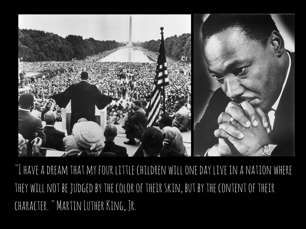 Martin Luther King Jr Quotes I Have A Dream Black History Month Visual Presentation I Have A Dream Dr