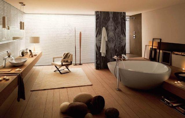 Farbgestaltung badezimmer ~ Wellness badezimmer einrichten exzellente ausstattung edle stoffe