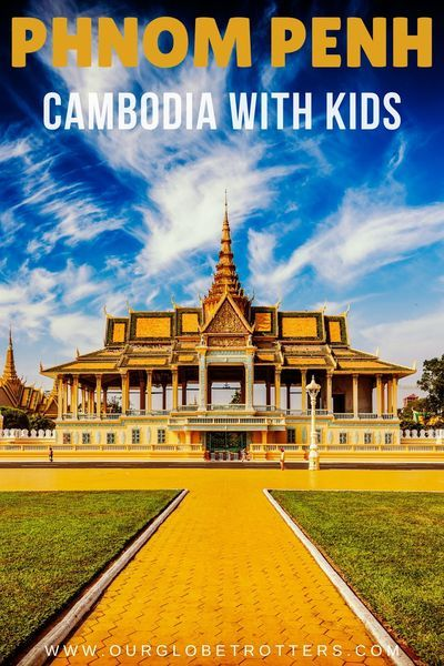 Explore the historic capital Phnom Penh Cambodia with your kids. Best things to see and do, where to eat and the BEST inner city retreat to stay at when travelling as a family. Don't skip Phnom Penh in your Cambodia Itinerary #familytravel #southeastasia