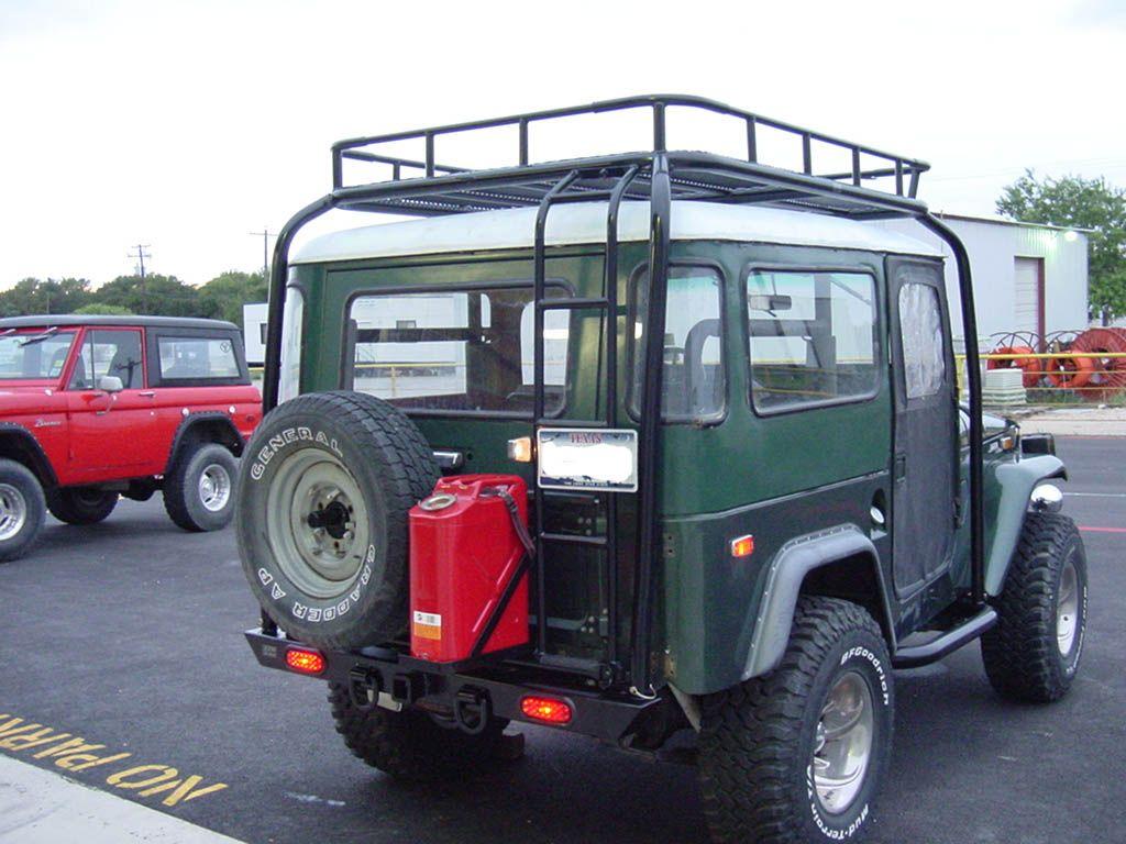 FJ40 custom racks Toyota Land Cruiser, Jeep 4x4, Toyota 4x4, Redline,  Vehicles