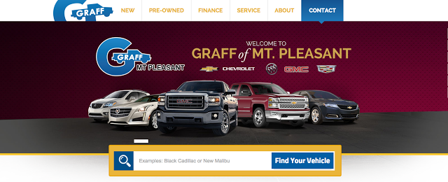 Check Out Our New Graff Mt Pleasant Portal Site With Images