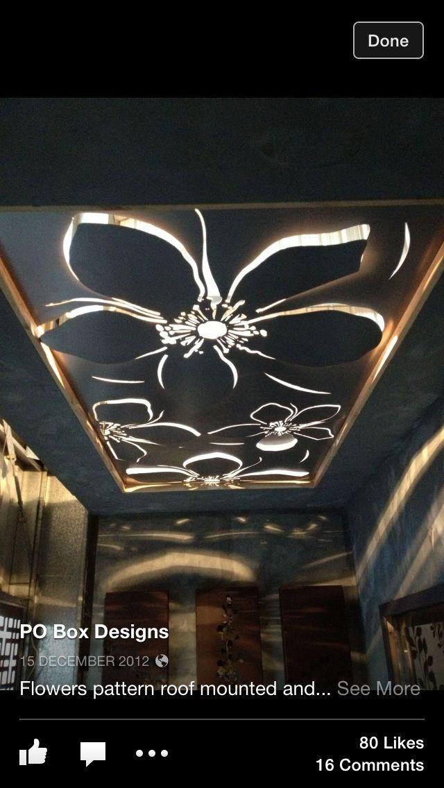 Laser Cut Ceiling Designs Ceilings Pinterest 침실 디자인