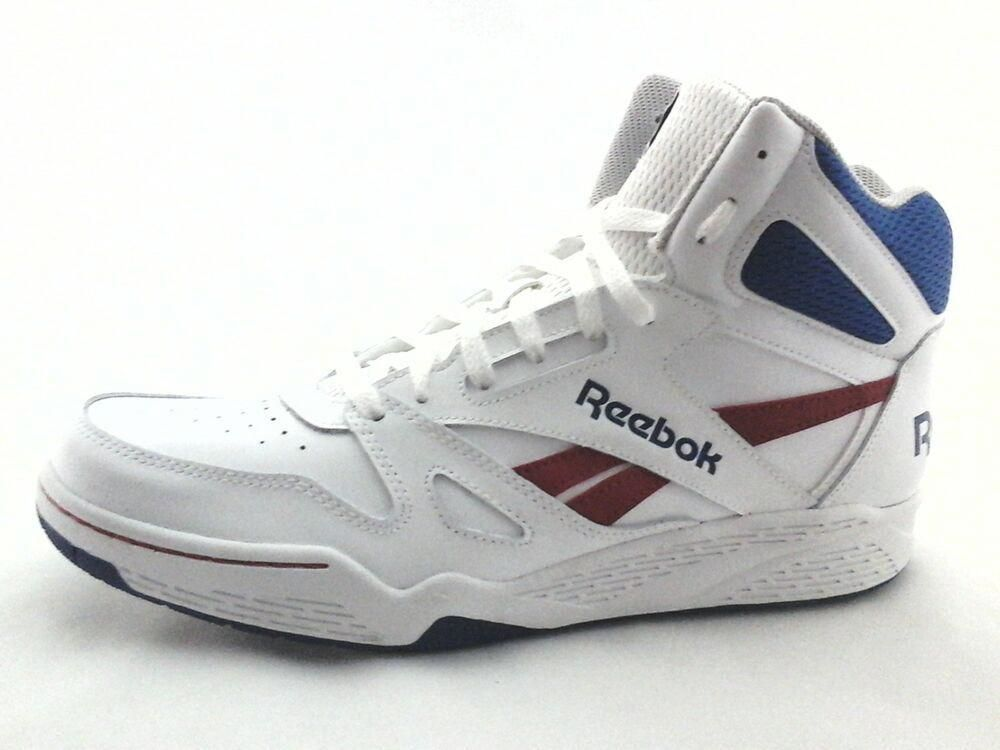 REEBOK ROYAL FLAG Retro White Blue Red Basketball Shoes