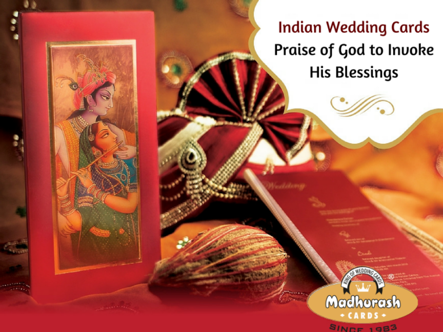 indian wedding hindu invitations%0A A nice imported metalic card along with self imprint of leaf all over   while on right side front nice gold foil Ganesha in gold u    its stunning