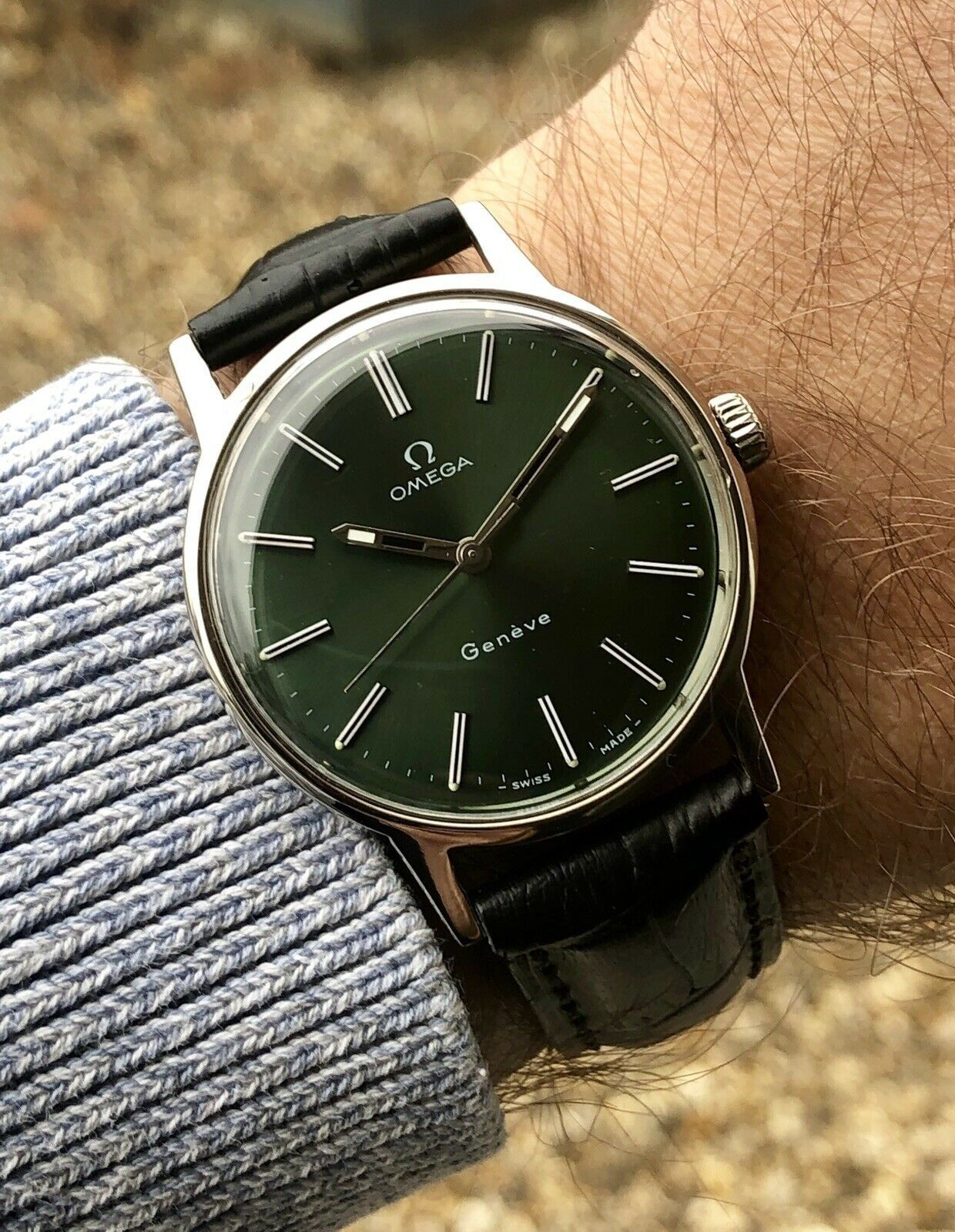 Https Www Fineauctionclub Com Listing 681242471 Omega Mens 1960 To 1969 Geneve Green