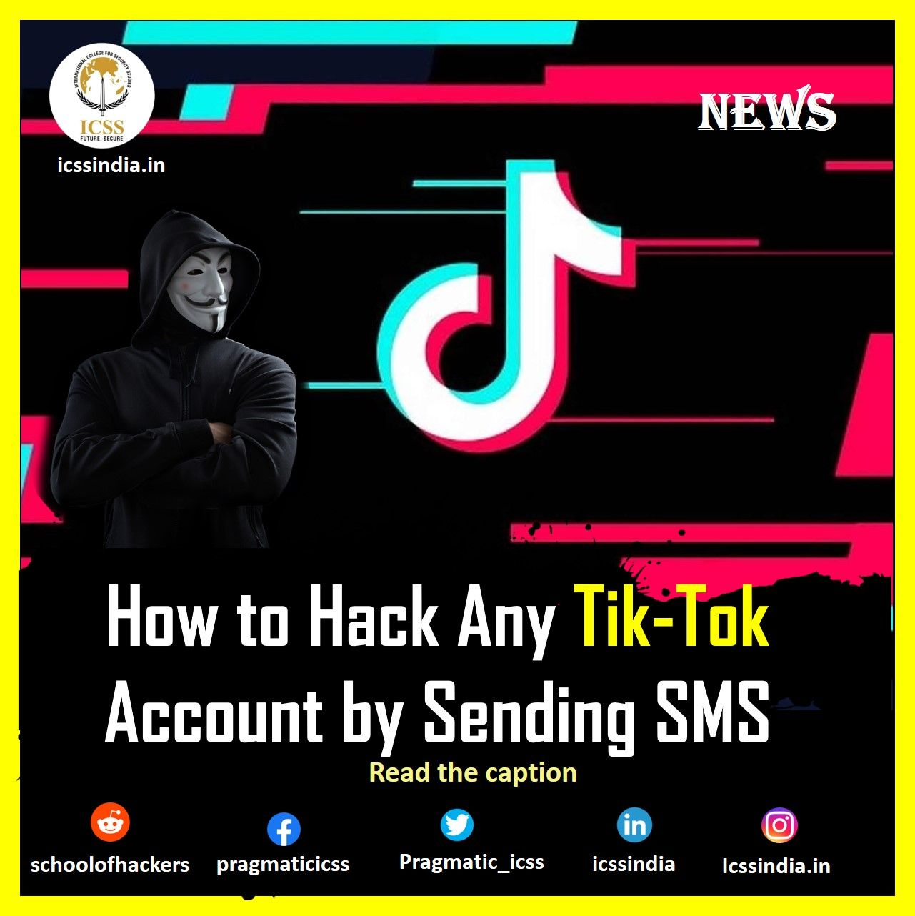 How to hack any tiktok account by sending sms with