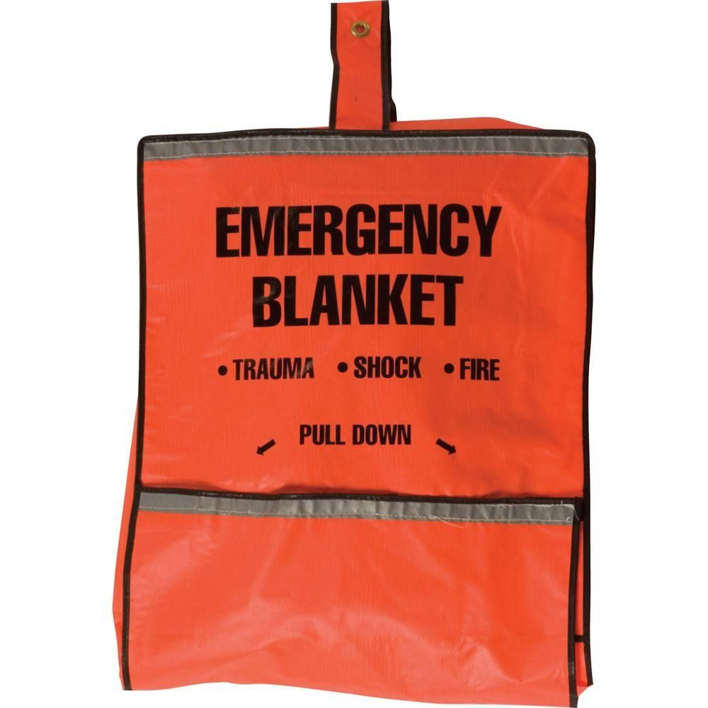 Safety Flag Emergency Fire Blanket And Pouch 8025 The Home Depot Emergency Fire Emergency Blankets Emergency