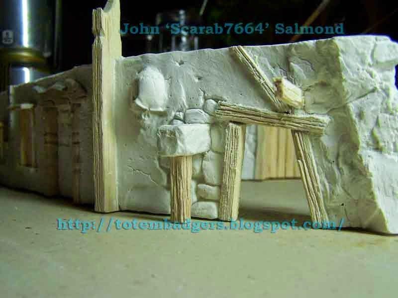 Row Houses, Tabletop Terrain, Terrain Tutorial, DYI, John