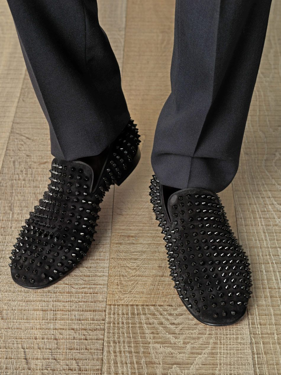 Christian Louboutin Intern Loafers Navy