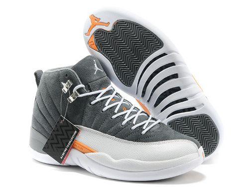 best loved 5116b 61c4c Men Air Jordan AJ12 Jordan retro 12 Basketball Shoes A Suede ...