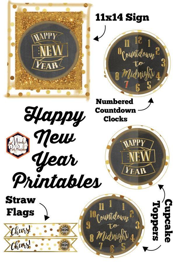 Neujahrs Countdown