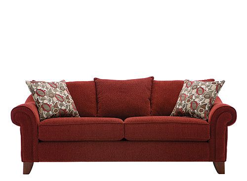 a perfect blend of glitz and grace this contemporary molly chenille rh pinterest com Red Deep Seat Chenille Sofa red chenille couch