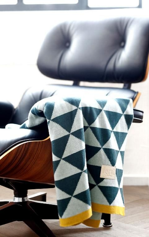 Beautiful Einfache Dekoration Und Mobel Moderner Reiniger Oder Hausmittel #8: Found It At AllModern - Modern Geometric Cotton Throw Blanket