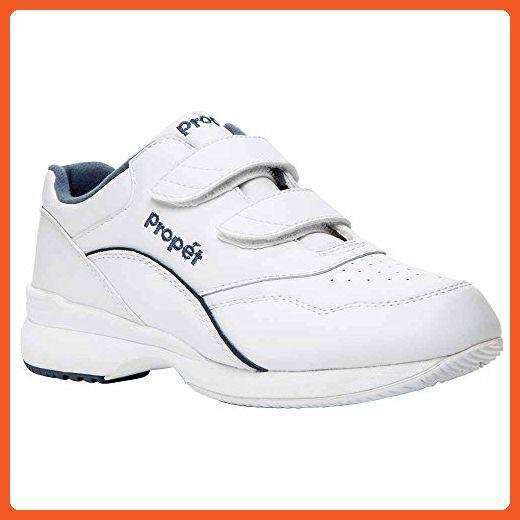 c753ccd863328 Propet Women's Tour Walker Strap II Sneaker,White/Blue, 10 XWW ...