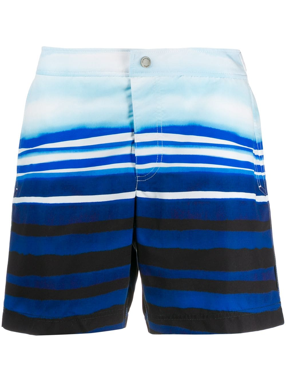 df6ac29c Ermenegildo Zegna striped swim shorts - Blue in 2019 | Products ...