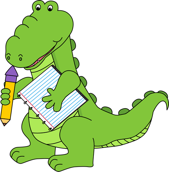 Free Alligator Clip Art | School Alligator Clip Art Image ...