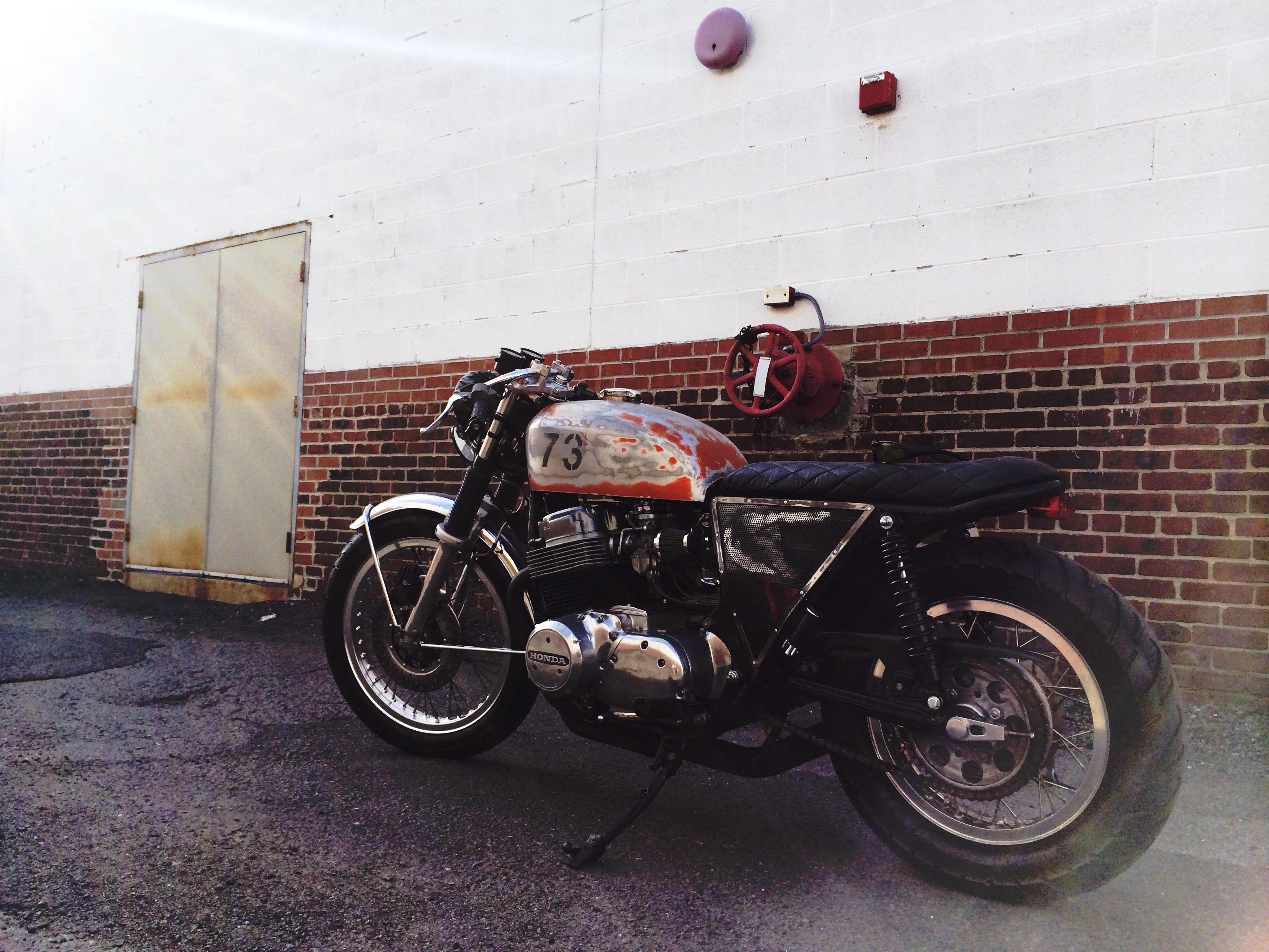 73 Cb750 Cafe Racer Brat