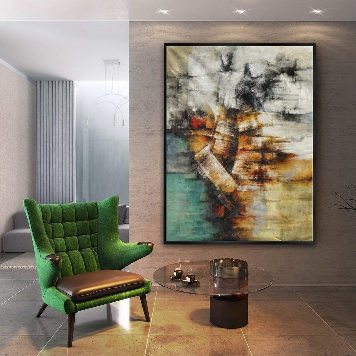 60x80 152x203cm abstract wall art living room wall